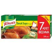 قرص عصاره مرغ 24 عددی کنور Knorr
