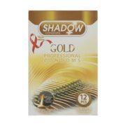 کاندوم تاخیری طلایی شادو 12 عددی Shadow Gold