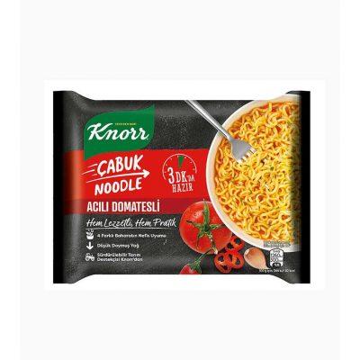 نودل کنور با سس گوجه تند Knorr