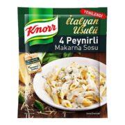 سس ماکارونی با طعم پنیر کنور Knorr