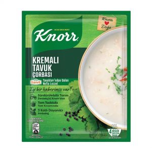 سوپ مرغ خامه ای کنور Knorr