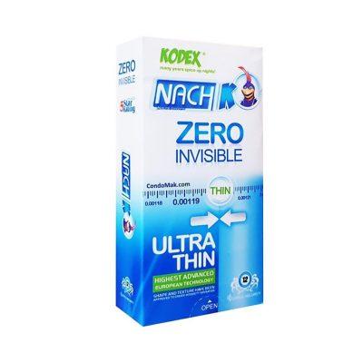 کاندوم نازک کدکس 12 عددی Kodex Zero Invisible