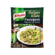 سس ماکارونی با طعم ریحان کنور Knorr