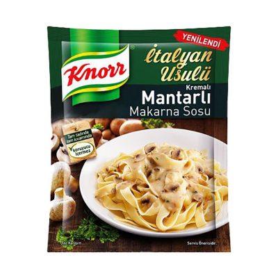 سس قارچ ماکارونی کنور Knorr