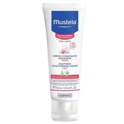 کرم تسکین دهنده و رطوبت رسان موستلا Mustela