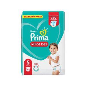 پوشک شورتی بچه سایز 5 پریما 42 عددی Prima