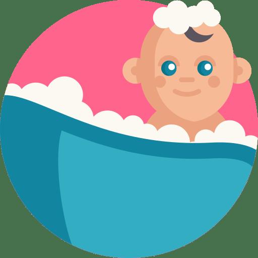 نظافت و حمام کودک