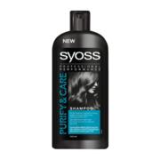 شامپو موهای چرب سایوس Syoss Purify & Care