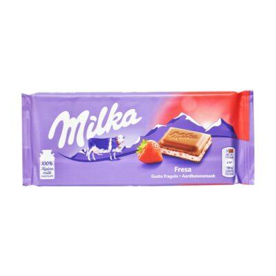 شکلات توت فرنگی میلکا Milka