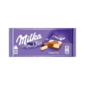 شکلات میلکا مدل Mika Happy Cows