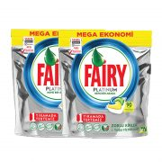 قرص ماشین ظرفشویی فیری پلاتینیوم 180عددی Fairy