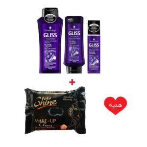پکیج اقتصادی مراقبت مو گلیس برای موهای آسیب دیده + هدیه