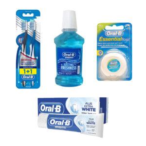 پکیج اقتصادی خانواده اورال بی Oral-B