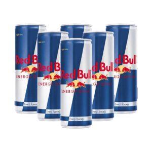 پکیج 6 تایی نوشابه انرژی زا ردبول اصل Red Bull