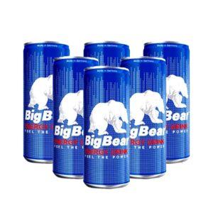 پکیج 6 تایی نوشابه انرژی زا بیگ بیر آلمانی Big Bear