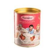 پودر نیمه آماده فرنی بادام توت فرنگی Fernino