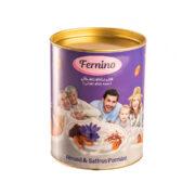 پودر نیمه آماده فرنی بادام زعفرانی Fernino